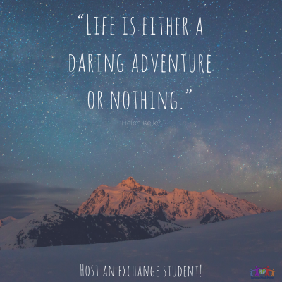 Daring adventure